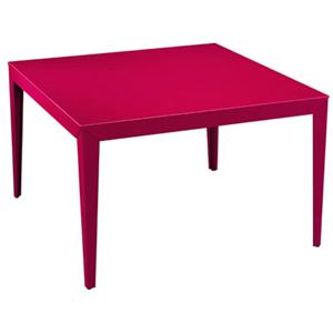Table aluminium rouge tous les objets de d coration sur - Table de jardin rouge ...