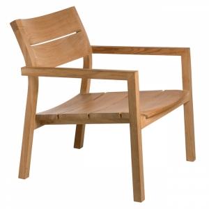 fauteuil bas teck kos versus sabz. Black Bedroom Furniture Sets. Home Design Ideas