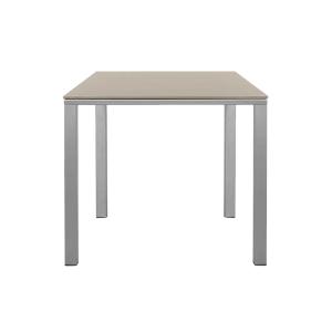 Table carr e mystral c ramique gris versus sabz for Table exterieur ceramique