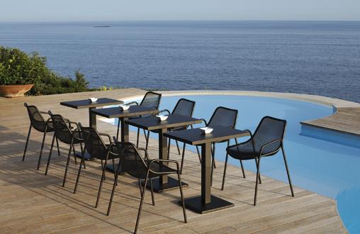 la marque de mobilier de jardin emu a t fonde en 1951 en ombrie ds les annes 1960 elle met profit les savoir faire locaux dans le travail du mtal - Mobilier Exterieur Design