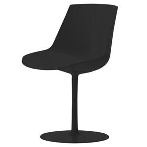 chaise flow chair pied central mdf jean marie massaud sabz. Black Bedroom Furniture Sets. Home Design Ideas