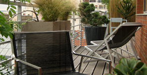 am nagement paysager terrasse balcon jardin contemporain paris sabz. Black Bedroom Furniture Sets. Home Design Ideas