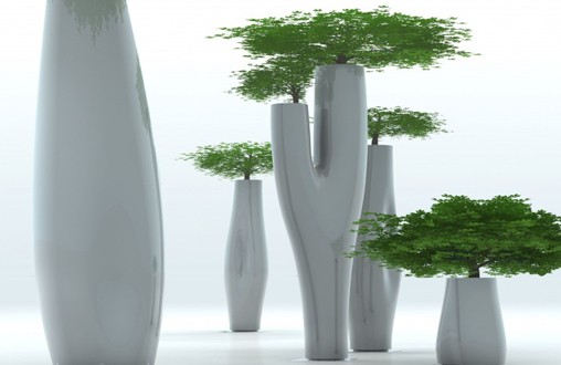 Serralunga - pots et jardinières en plastique - mobilier design - sabz