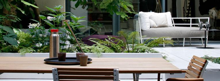 Am nager et structurer balcon terrasse et jardin sabz for Terrasse de jardin design