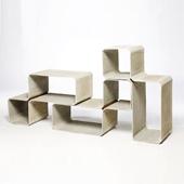 bibliothèque - Tetris - Eternit